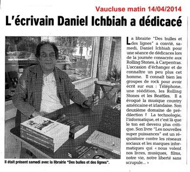 Daniel - dauphine libéré