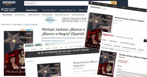 Michael Jackson librairies espagnoles copie