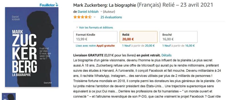 Zuckerberg - relié